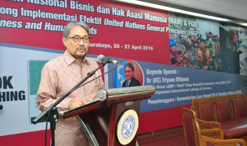 Simposium Nasional dan FGD tentang Bisnis dan HAM
