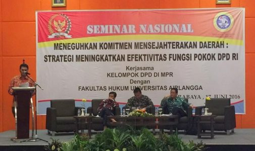 DPD RI adakan diskusi publik dengan FH UNAIR