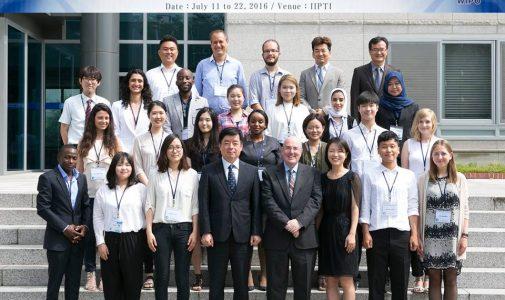Mahasiswa FH UNAIR Ikuti WIPO Summer School di  Daejon, Korea Selatam