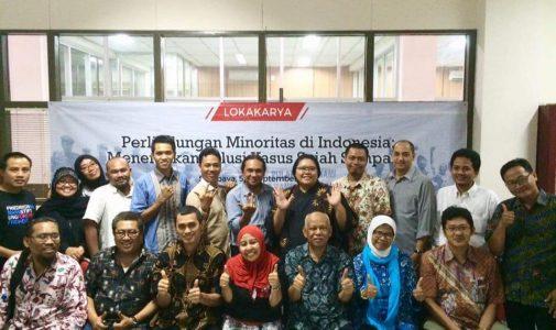 Lindungi Minoritas di Indonesia, FH UNAIR adakan Workshop Perlindungan Minoritas