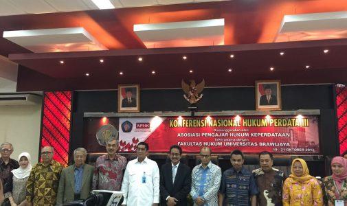 Konferensi APHK III: Guru Besar FH UNAIR Kembali Terpilih Kembali Menjadi Ketua Asosiasi