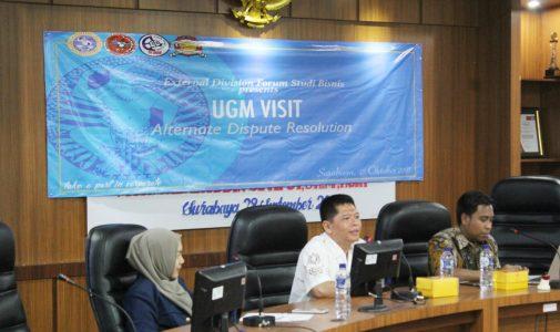 Business Law Community (BLC) FH UGM Kunjungi FH UNAIR