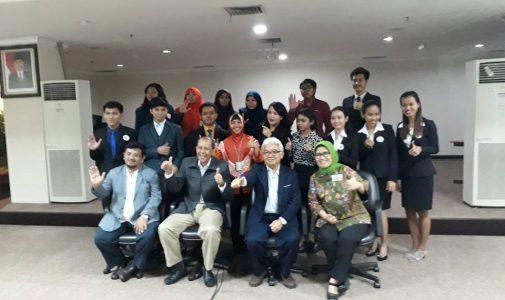 Delegasi FH unair mengunjungi Bapeten