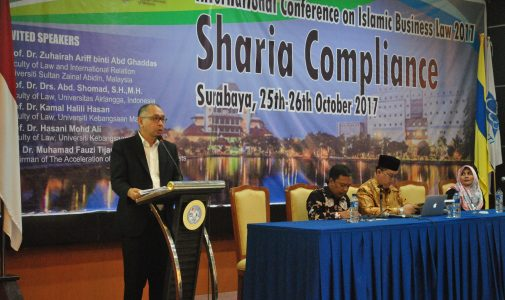 INTERNATIONAL CONFERENCE ON  ISLAMIC BUSINESS LAW (ICIBL) 2017 FH UNAIR-UKM-UNISZA