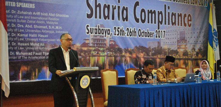 INTERNATIONAL CONFERENCE ON  ISLAMIC BUSINESS LAW (ICIBL) 2017 FH UNAIR-UKM-UNISZA