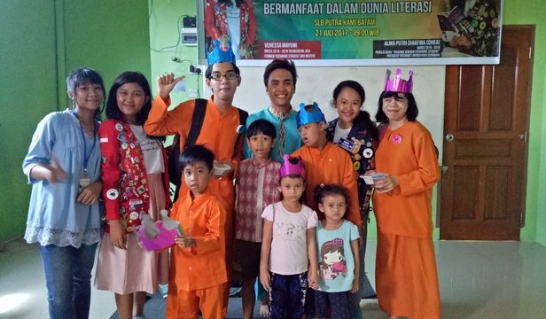 How a friendship led to a literacy project in Indonesia