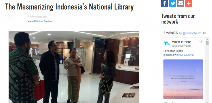The Mesmerizing Indonesia's National Library