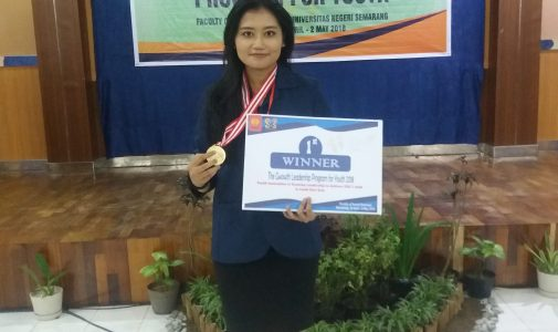 CITI SERFIYANI MAHASISWI PERAIH JUARA I THE GROWTH LEADERSHIP PROGRAM FOR YOUTH