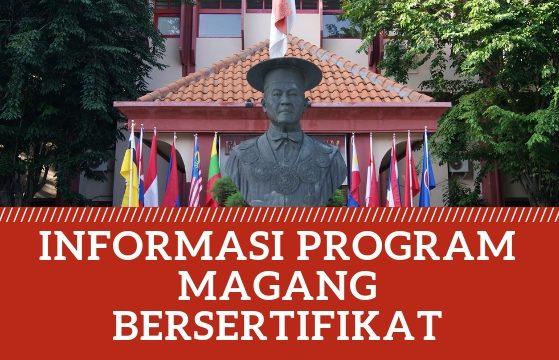 INFORMASI PROGRAM MAGANG BERSETIFIKAT