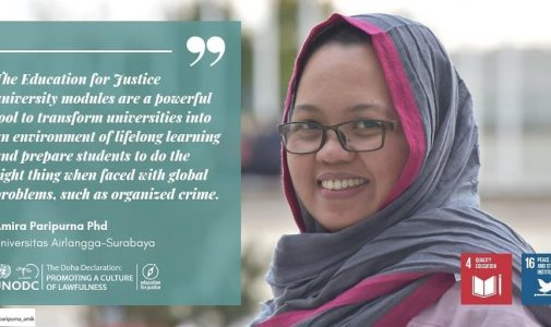 Dr. Amira Paripurna, combating an organised crime
