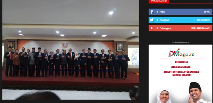 Jamwas Kejagung RI M. Yusni, S.H., M.H., Dikukuhkan Sebagai Ketua (IFKHUA) Alumni Fakultas Hukum Unair Surabaya