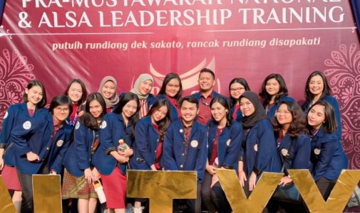 ASIAN LAW STUDENTS' ASSOCIATION (ALSA) LOCAL CHAPTER UNIVERSITAS AIRLANGGA  MENGHADIRI ACARA PRA-MUSYAWARAH NASIONAL & ALSA LEADERSHIP TRAINING (PALT).