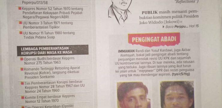 Perppu dan Ujian Komitmen Jokowi