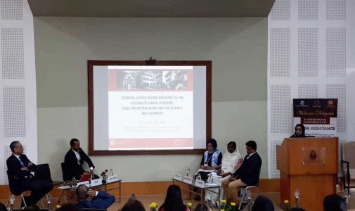 STAF PENGAJAR DEPARTEMEN HUKUM PIDANA MENJADI DELEGASI DALAM  8th INTERNATIONAL CONFERENCE ON VICTIM ASSISTANCE AND VICTIMOLOGY STUDIES DI INDIA