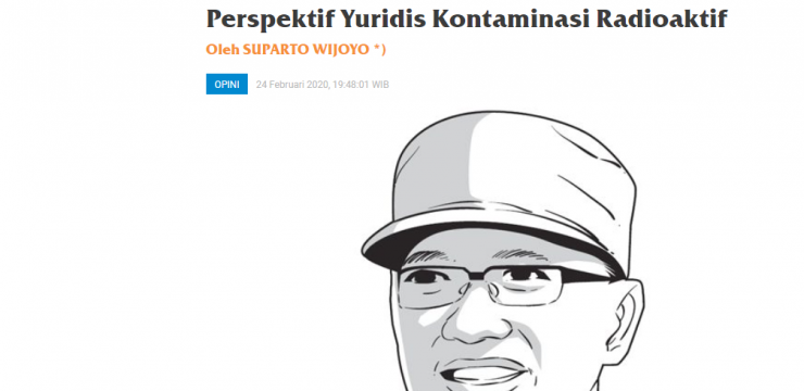 Perspektif Yuridis Kontaminasi Radioaktif
