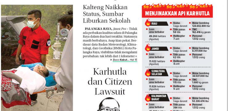 Karhutla dan Citizen Lawsuit