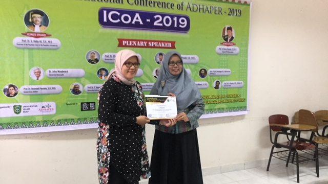 Pembicara Australia, Malaysia dan Singapura Hadiri Konference ADHAPER di Fakultas Hukum UIR