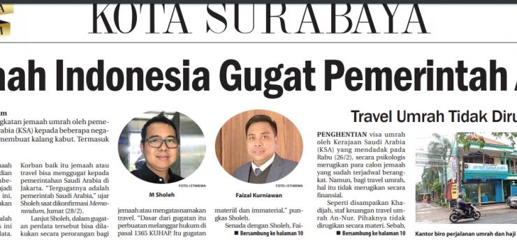 Jemaah Indonesia Gugat Pemerintah Arab