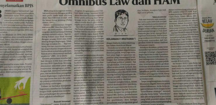 Omnibus Law dan HAM