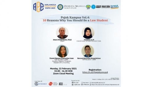 Pojok Kampus Vol.4 : 10 Reasons Why You Should Be a Law Student