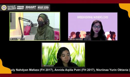 GIRLS TALK ON INTERNATIONAL WOMEN'S DAY: MOMENTUM UNTUK SELALU BERKARYA DAN MEMBERIKAN TERBAIK KEPADA KOMUNITA